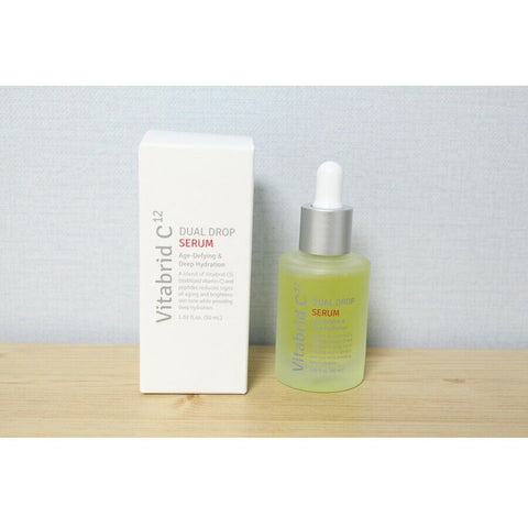 [Vitabrid C12] Dual Drop Serum Age-Defying & Deep Hydration 30ml / 1oz K-beauty - BEST BEAUTIP