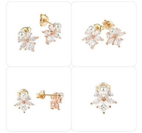 [AGATHA] 14K Gold Daily Earrings 2381851S_313 with case K-beauty - BEST BEAUTIP