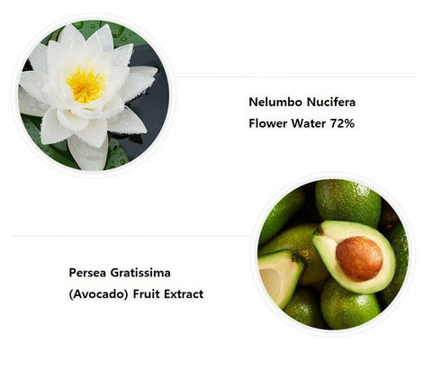twinkidea - [Graymelin] Avocado Ampoule 30ml / 1oz with Lotus Flower Water 72% K-beauty - Graymelin - Ampoules