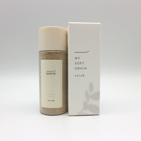 [sioris] MY SOFT GRAIN 45g/1.58oz Natural Exfoliator Face Scrub K-beauty - BEST BEAUTIP