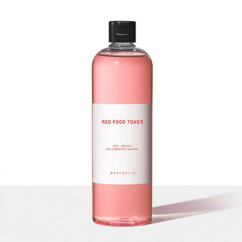 [GRAYMELIN] Red Food Toner 500ml / 16.9oz K-beauty Anti-wrinkle - BEST BEAUTIP