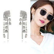 [VINTAGE HOLLYWOOD] Antique Mixmatch Earrings Korea Star Wears - BEST BEAUTIP