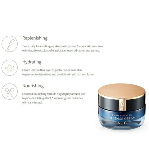 [AHC] Prime Expert EX Intense Cream 50ml K-beauty Brightening + Wrinkle Care - BEST BEAUTIP