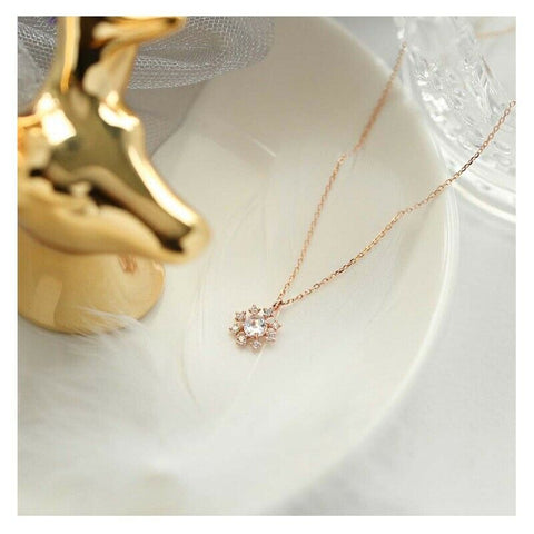 [LLOYD] 10K Pink Gold Snow Pearl Necklace LNT19093T with case K-beauty