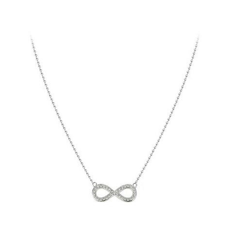 twinkidea - [AGATHA] Sterling Silver Eternel Necklace 2623621_136 with case K-beauty - AGATHA - Necklaces