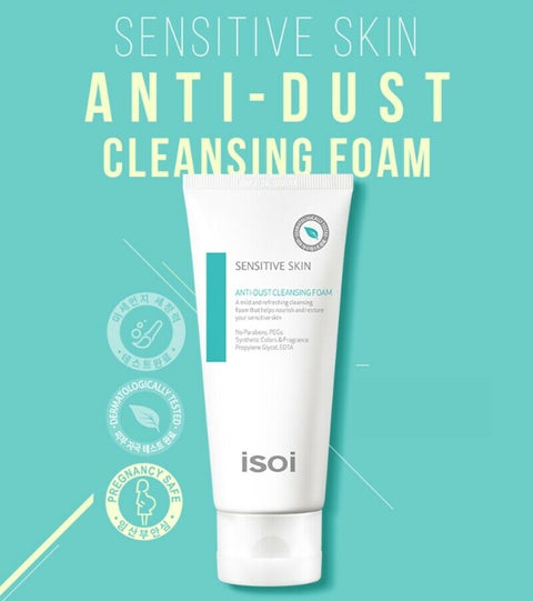 [isoi] Sensitive Skin Anti-Dust Cleansing Foam 100ml / 3.38oz K-beauty - BEST BEAUTIP