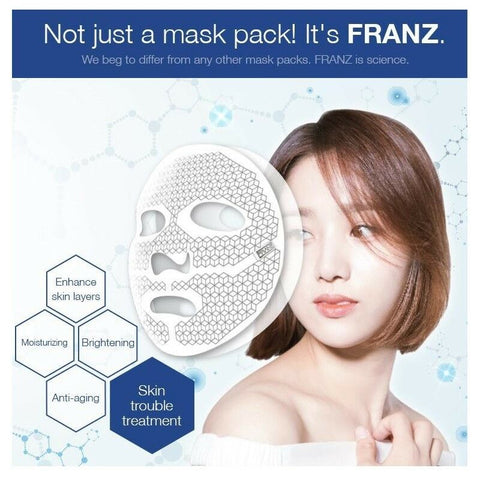 [FRANZ] Dual Mask Jet 1BOX(2EA) Active Ingredients Infusion Dual Mask K-beauty - BEST BEAUTIP