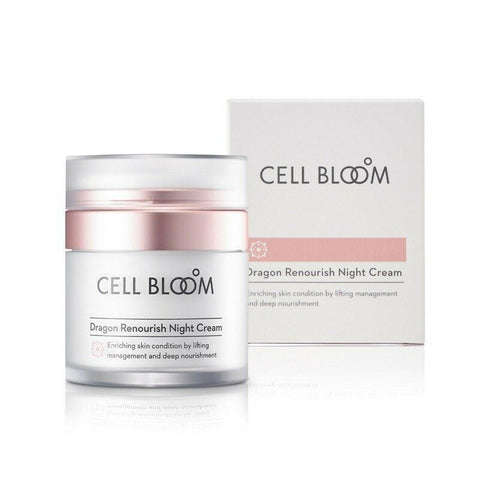 [CELL BLOOM] Dragon Renourish Night Cream 50ml(1.69oz) K-beauty Anti-Aging Cream - BEST BEAUTIP