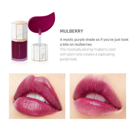 [DEAR DAHLIA] Paradise Moisture Veil Lip Glaze 6.5ml (5 colors) K-beauty - BEST BEAUTIP