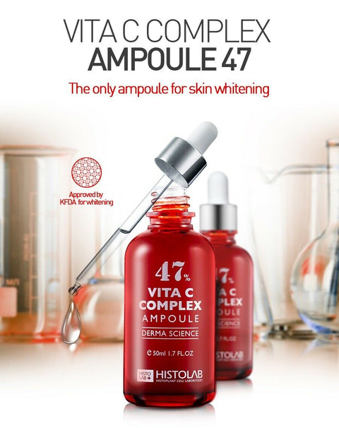 [Histolab] Vita C Complex Ampoule 47% 80ml / 2.7 fl.oz for whitening skin K-beauty - BEST BEAUTIP