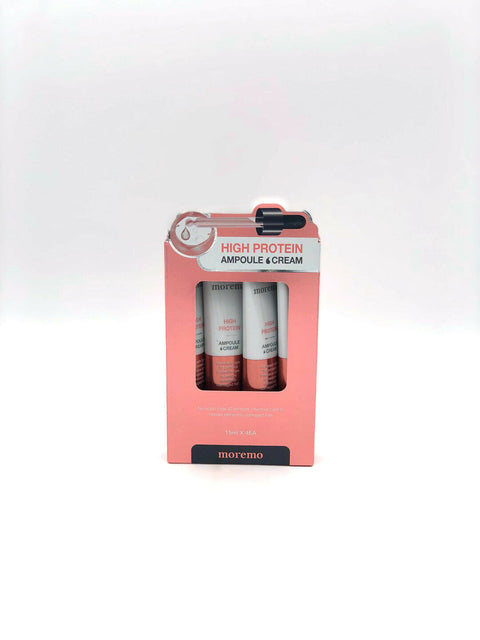 [Moremo] High Protein Ampoule Cream 15ml x 4ea Hair Care K-beauty - BEST BEAUTIP