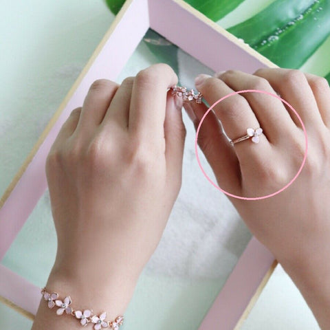 twinkidea - [RITAMONICA] Rose Gold Suguk Ring A RC6-JGRR1 with Box packing K-beauty - RITAMONICA - Rings