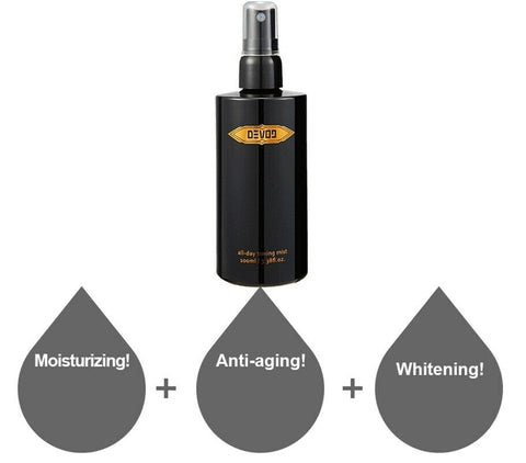 [DEVONINE] All Day Toning Mist 100ml / 3.38oz for Man's Skin K-beauty - BEST BEAUTIP
