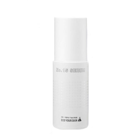 [ECO YOUR SKIN] No. 15 Serum 50ml / 1.69oz hydrate & plump skin K-beauty - BEST BEAUTIP