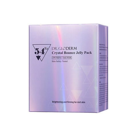 [DR.GLODERM] Crystal Bounce Jelly Pack 1box (2.5g x 30) K-beauty Sleeping Pack - BEST BEAUTIP