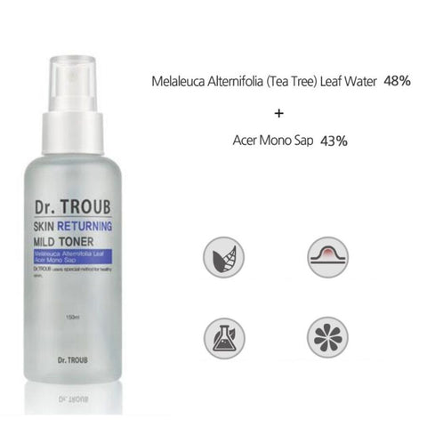 [Sidmool] Dr.Troub Skin Returning Mild Toner K-beauty Tea Tree Leaf Water 48% - BEST BEAUTIP