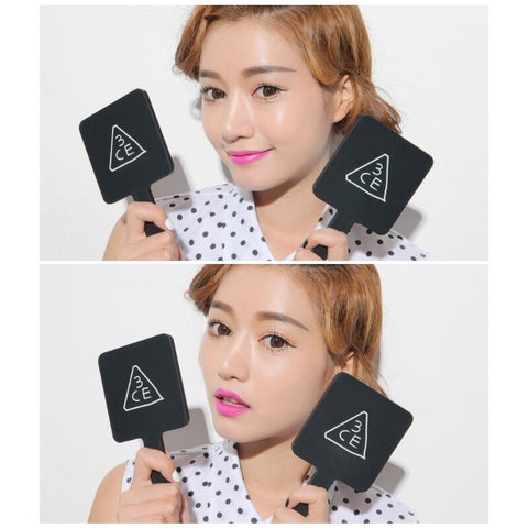 twinkidea - [3CE] Square Hand Mirror Portable Makeup Mirror (3 Colors) K-beauty - 3CE - Makeup Mirrors