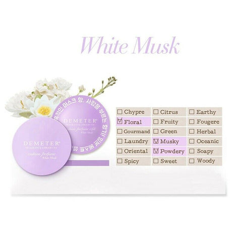 [Demeter] Fragrance Library NY Cushion Perfume 2.5g 4 Type K-beauty - BEST BEAUTIP