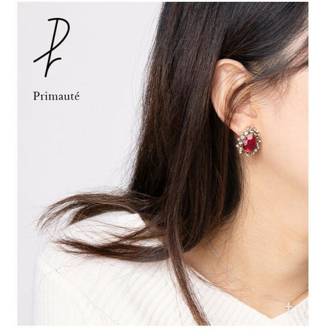 [PRIMAUTE] Grace Earring K-drama IU Wearing of tvN Drama Hotel DelLuna - BEST BEAUTIP