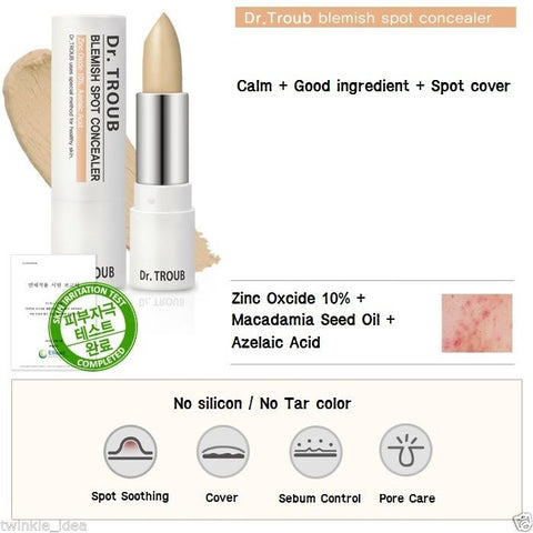 [Sidmool] Dr.Troub Blemish Spot Concealer for Acne Skin 5g / 0.17oz K-beauty - BEST BEAUTIP