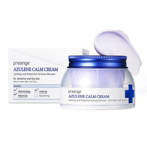 [preange] Azulene Calm Cream 50ml with Angelica Complex 100,000ppm K-beauty - BEST BEAUTIP