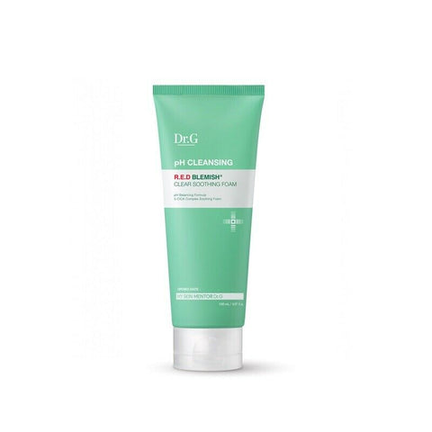 [Dr.G] pH Cleansing R.E.D Blemish Clear Soothing Foam 150ml / 5oz K-beauty - BEST BEAUTIP