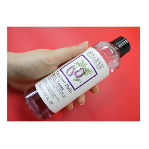 [BONAJOUR] Eggplant Daily BHA Toner 205ml/6.9oz K-beauty - BEST BEAUTIP