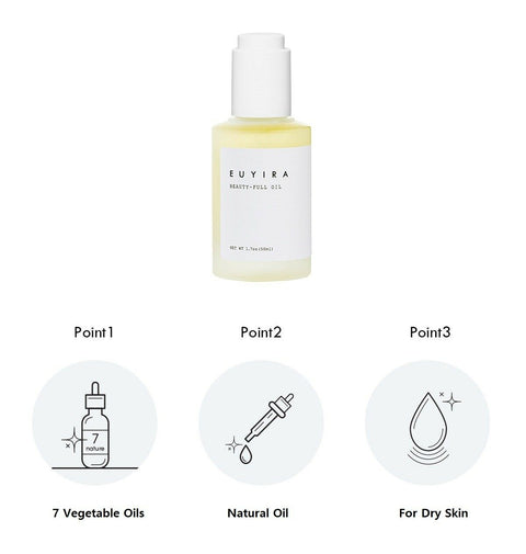 [EUYIRA] Beauti-Full Oil 50ml / 1.7oz 100% pure plant extracts K-beauty - BEST BEAUTIP