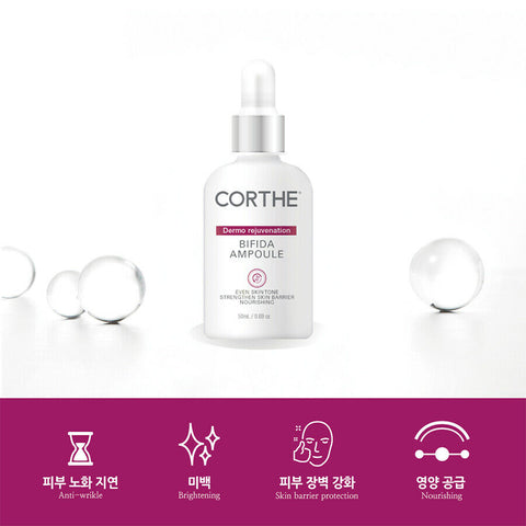 [DMS Dermoessential] Corthe Dermo Rejuvenation Bifida Ampoule 50ml K-beauty - BEST BEAUTIP
