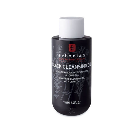 [erborian] Black Cleansing Oil 190ml / 6.4oz K-beauty Purifying with Charcoal - BEST BEAUTIP