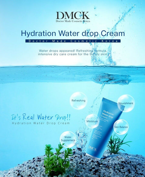 [DMCK] Hydration Water Drop Cream 100ml / 3.38oz by Hyaluronic Acid K-beauty - BEST BEAUTIP