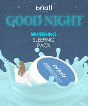 [Briall Homme] Whitening Sleeping Pack 100ml / 3.38oz for Man's Skin K-beauty - BEST BEAUTIP