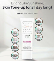 [THANK YOU FARMER] Skin Tone Up Total Cream 40ml / 1.35oz SPF50+ PA++++ K-beauty - BEST BEAUTIP