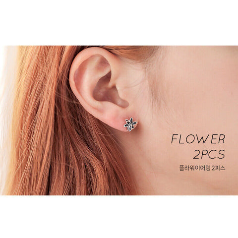 [Milton Stelle] Aurora Blossom Shower Earrings K-beauty IU Wearing Hotel DelLuna - BEST BEAUTIP