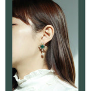 [RITA MONICA] Gold Paris Garden Pearl Earrings RC17-JSYE6 with Box packing K-beauty - BEST BEAUTIP