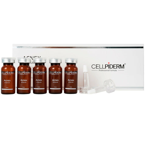 [CELLPIDERM] Acnex Ampoule (10ml * 5ea) K-beauty - BEST BEAUTIP