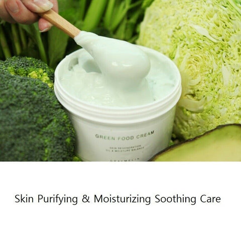 [GRAYMELIN] Green Food Cream 500ml / 16.9oz with Cabbage Leaf Water 61% K-beauty - BEST BEAUTIP