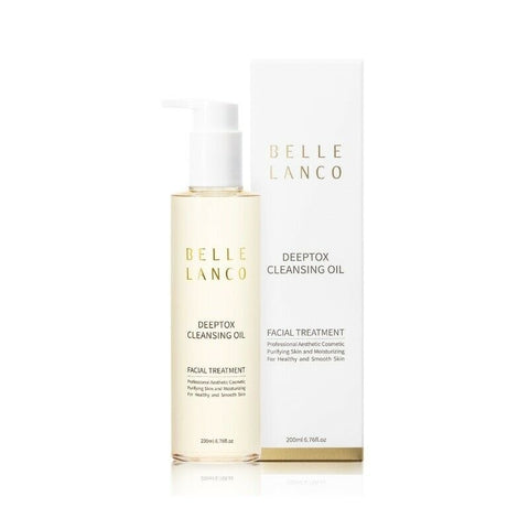[BELLE LANCO] Deeptox Cleansing Oil 200ml(6.76oz) Make-up Cleansing K-beauty