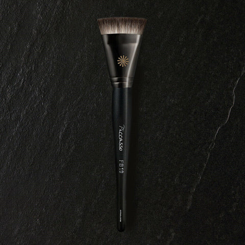 [PICCASSO Brush] FB19 Foundation Brush K-beauty Pore cover / For beginners - BEST BEAUTIP