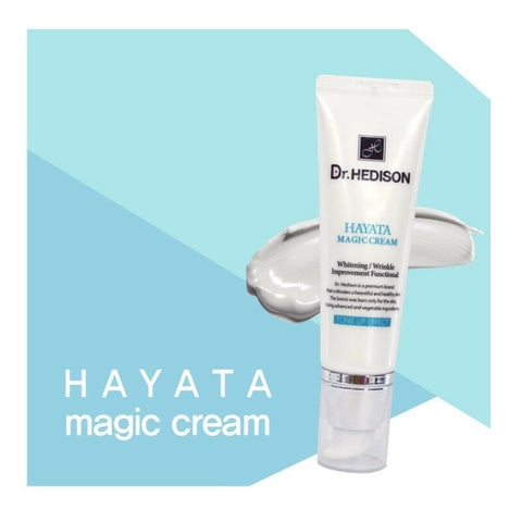 [Dr.HEDISON] Hayata Magic Cream 50ml/1.69oz Tone up Cream K-beauty - BEST BEAUTIP