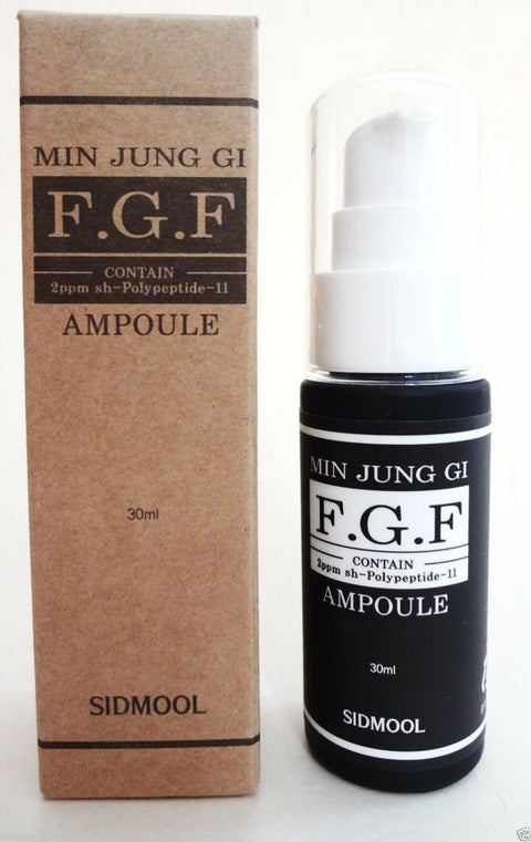 [Sidmool] F.G.F Ampoule 30ml / 1oz with 99% of FGF 2PPM Peptide K-beauty - BEST BEAUTIP