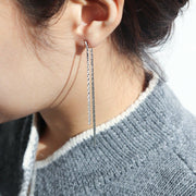 [RITA MONICA] Rita's chain Double Earrings RD19-SCWE17 with Box packing K-beauty - BEST BEAUTIP