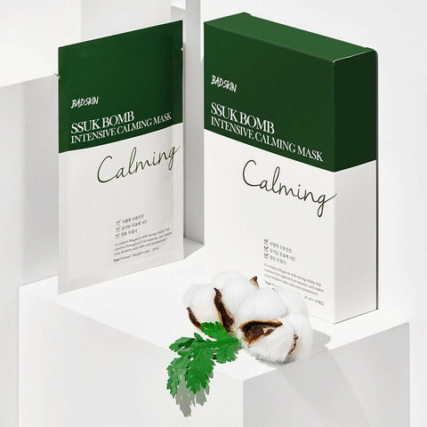 [BAD SKIN] SSUK Bomb Intensive Calming Mask 25ml x 10ea K-beauty - BEST BEAUTIP