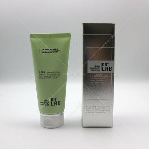 [DR+ LAB] Daily Pore Deep Cleanser 120ml / 4oz 58% Rich & Bouncy Foam K-beauty - BEST BEAUTIP