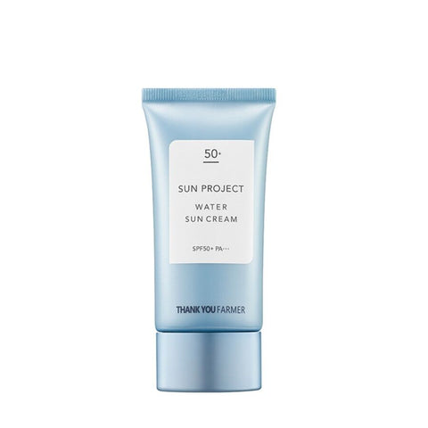 [THANK YOU FARMER] Sun Project Water Sun Cream SPF50+ PA+++ 50ml / 1.69oz K-beauty - BEST BEAUTIP
