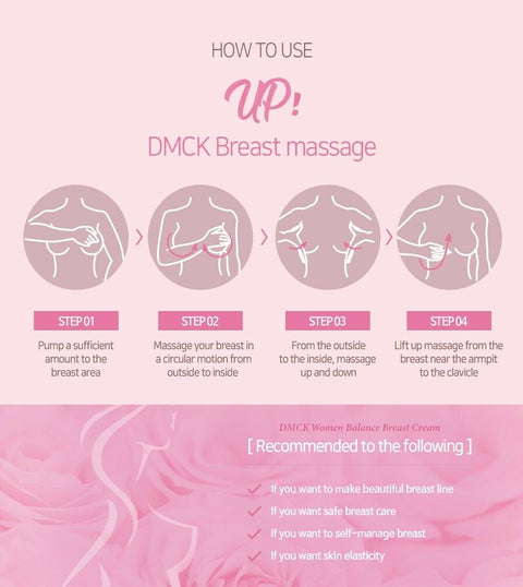 [DMCK] Women Balance Breast Cream 50ml / 1.69oz with Volufiline K-beauty - BEST BEAUTIP