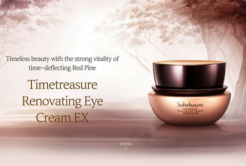 [Sulwhasoo] Timetreasure Renovating Eye Cream EX 25ml K-beauty with Red Pine - BEST BEAUTIP