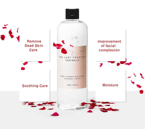 [GRAYMELIN] Rose Flower Water 85% & Natural Toner 500ml / 16.9 fl.oz K-beauty - BEST BEAUTIP