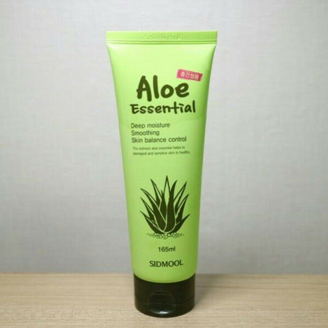 [Sidmool] Aloe Essential 165ml / 5.58oz K-beauty with Aloe Barbadensis Leaf - BEST BEAUTIP