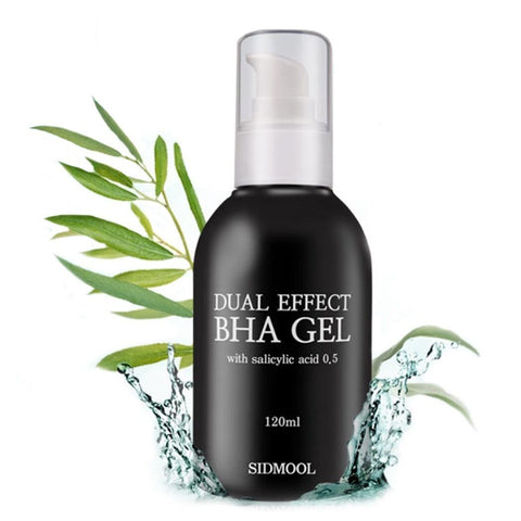 [Sidmool] Dual Effect BHA Gel 120ml/4oz K-beauty BHA + AHA + Moisture Gel - BEST BEAUTIP